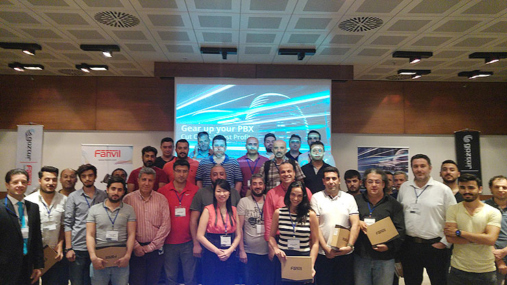 Fanvil Collaborated with 3CX and Turkish distributor Goztur for Training event in Istanbul