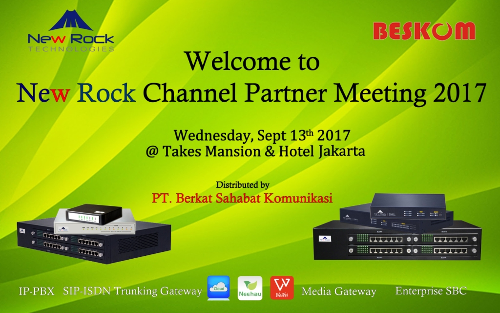 Channel Pertner Meeting & Training New Rock 2017