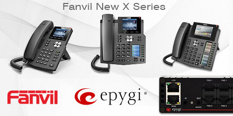 Fanvil New X Series are Fully Interoperable with Epygi QX IP PBX Appliances